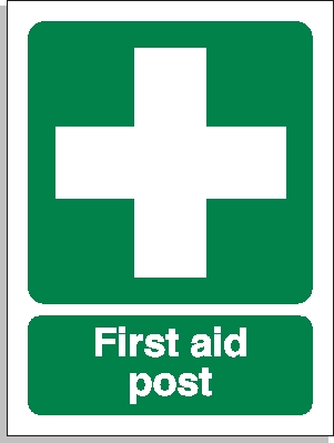 First aid post sign - First Aid Signs