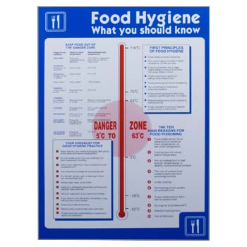 Catering Signs And Posters Health And Safety Signs