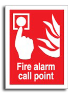 Fire Alarm Call Point - Fire Safety Signs