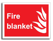 Fire Blanket Sign - Fire Safety Signs