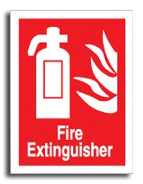 Fire Extinguisher Sign - Fire Safety Signs