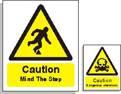 Indoor Warning Signs