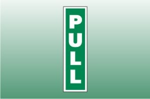 Fire Exit Signs - Pull