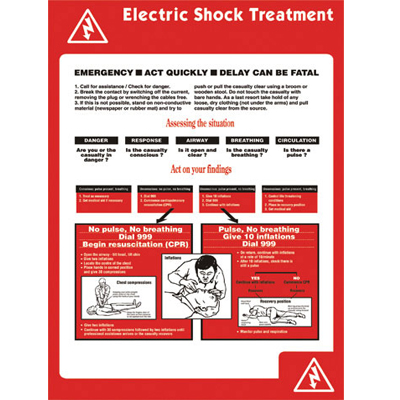 Treatment of Electric Shock Poster - TOES Poster