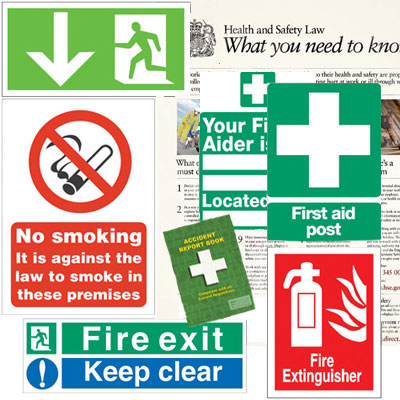 Business Starter Pack - Health and Safety Signs