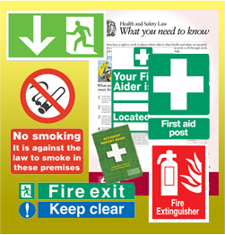 Health & Safety Signs Starter pk